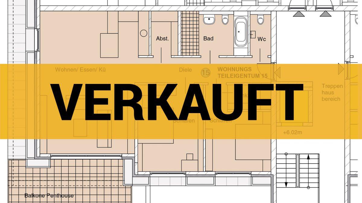 nowiBAU Grundriss einer Wohnung - verkauft