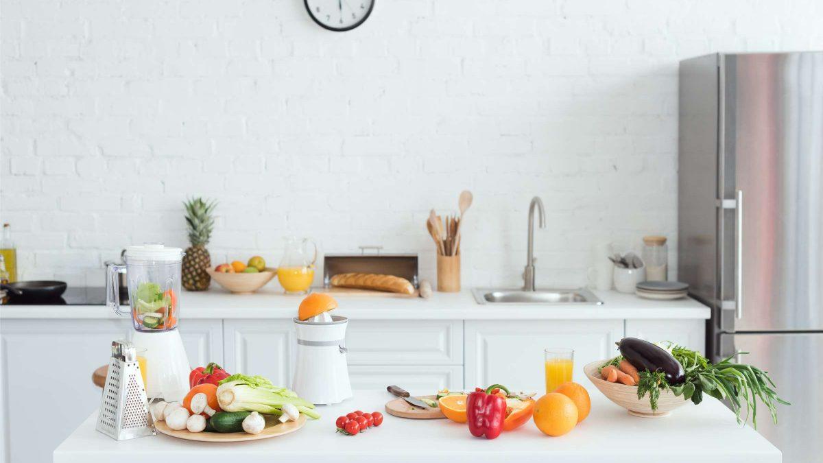 Bild einer Küche