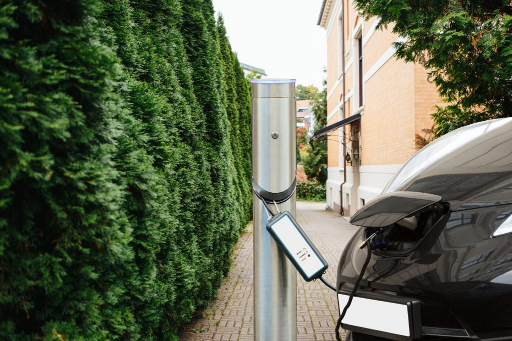 Elektroauto aufladen mit nowiBAU